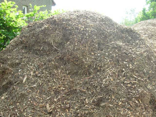 centrale verwarming op hakselhout